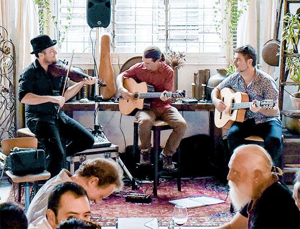 Brisbane Gypsy Jazz Music Trio