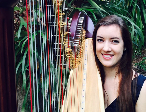 Brisbane Harpist - Harp Player For Weddings