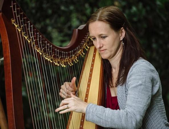 Brisbane Wedding Harpist