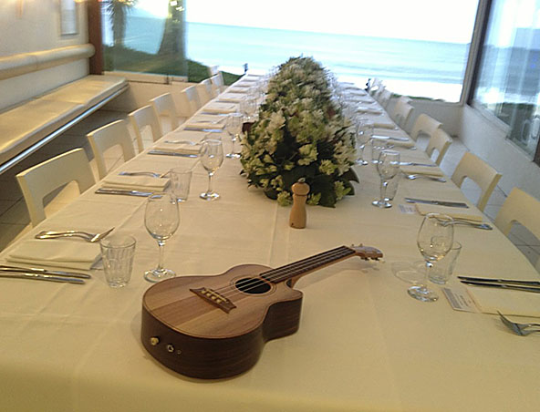 Brisbane Ukulele Player - Singer Ukulele Wedding