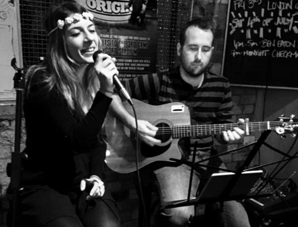 Dan and Diletta Acoustic Duo Brisbane