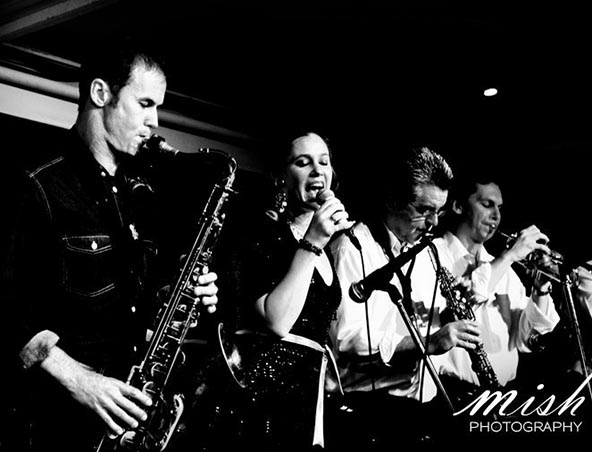 All Brassed Up Big Band Brisbane - Musicians Jazz Singers - Cover Band