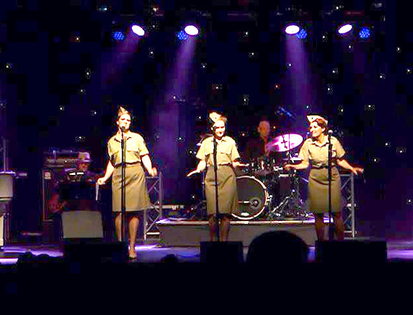 Andrew Sisters Tribute Brisbane - Singers 1930s