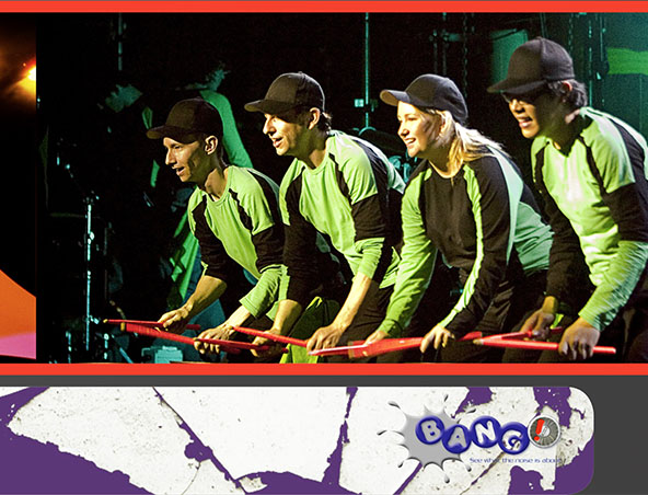 Brisbane drumming group Bang! - Drum Bands