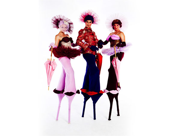 Brisbane Stilt Walkers - Lip Service- Roving Entertainers - Performers