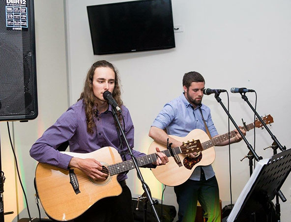 Butler Street Acoustic Duo Brisbane - Musicians - Singers