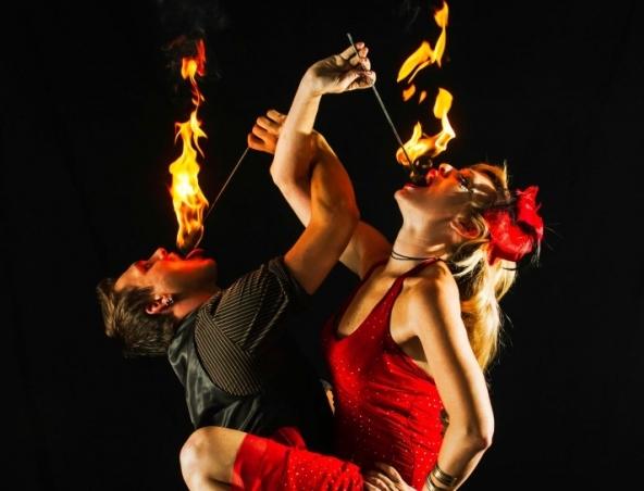 Fire Twirlers Brisbane