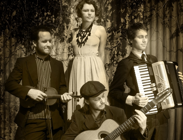 Foxlane Quartet French Jazz Band Brisbane - French Music