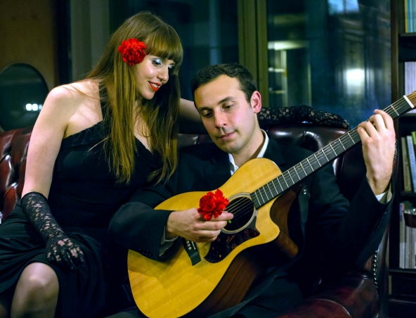 French Music Duo Brisbane Acoustic Duos