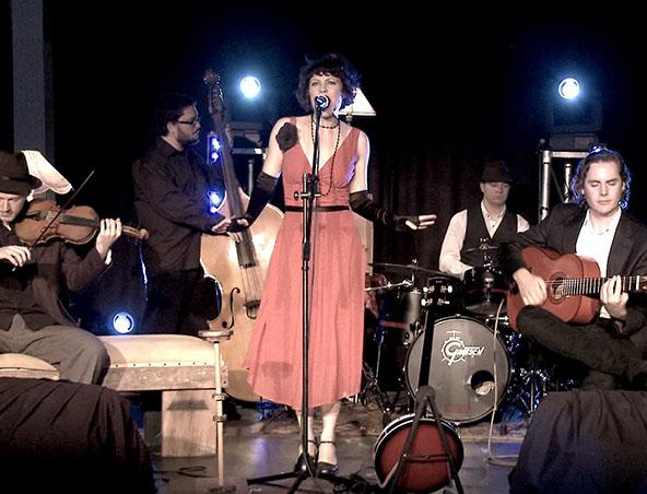 Gatsby Jazz Band Brisbane - Musicians - Singers