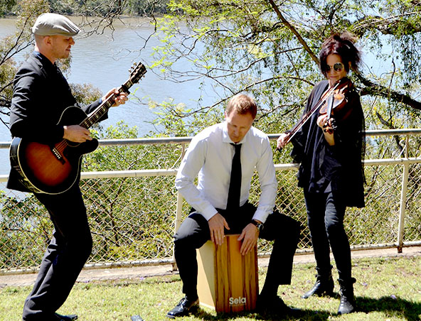 Midnight Express Music Trio Brisbane - Cover Bands Wedding