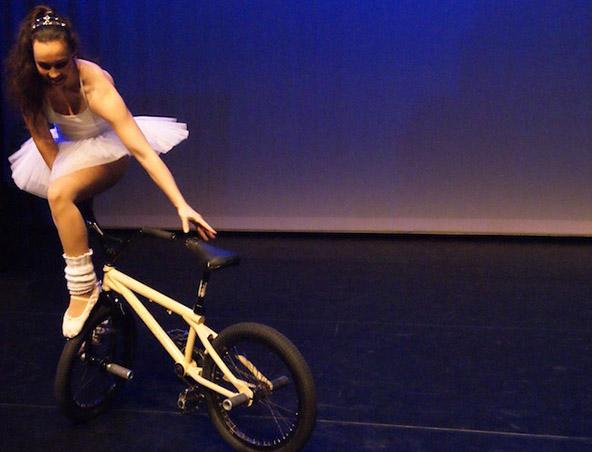 BMX Unicyclist Brisbane - Street Performers Roving Entertainment